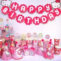 Bộ phụ kiện sinh nhật chủ đề Kitty