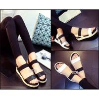 Giày Sandal bánh mì phối thun