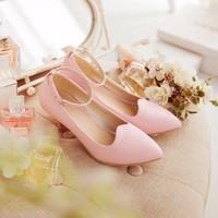 Giày cao gót quai cài Sani thời trang - LN262