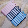 Ốp lưng iphone 6 Plus thỏ sọc dễ thương