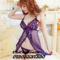 Đầm Ngủ Sexy Ren D151