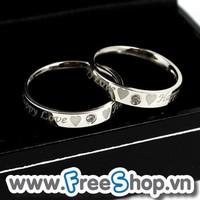 Nhẫn đôi INOX cao cấp NC304