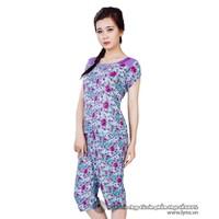 Bộ đồ mặc nhà họa tiết hoa xinh xắn XA611415