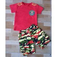 Bộ áo thun cotton, quần kaki thun Subi 100