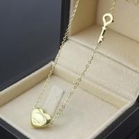 Dây chuyền chìa khóa trái tim Titan vĩnh viễn  không đen