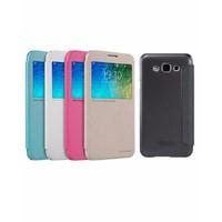 Bao da Samsung Galaxy E7 - Nillkin Hồng