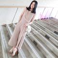 Hàng nhập_ Set áo và quần harem nữ thời trang xếp ly cách điệu_ S02