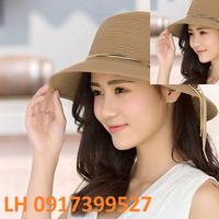 nón rộng vành FeDora đi biển thời trang Hàn Quốc  mới L120142