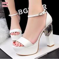 giày cao gót chất da 12 cm - c384