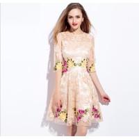 Đầm ren dạ hội cao cấp ML16016
