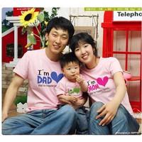 Combo 3 áo thun gia đình cao cấp - AGD0352