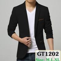 Áo khoác kaki nam phối túi GT1202