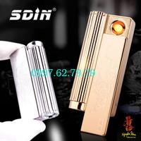 Quẹt USB SDIN 2IN1-ĐÈN PIN SIÊU SÁNG