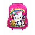 Balô Hello Kitty vali kéo cùng bé đến trường