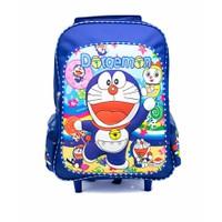 Ba lô Doraemon Vali kéo bé đi học