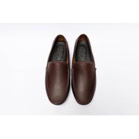 Giày mọi da bò đơn giản