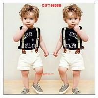 Bộ yếm bé trai cực yêu cho bé từ 1-8 Tuổi_CBT19808