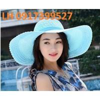 nón rộng vành chống tia UV thời trang Hàn Quốc loại 1 mới L120145