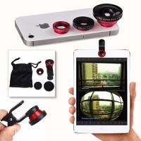 Lens điện thoại 3 trong 1