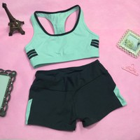TT 07 - Bộ quần áo thể thao nữ tập Gym Yoga Aerobic