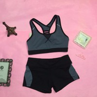 TT 10 - Bộ quần áo thể thao nữ tập Gym Yoga Aerobic
