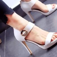 Giày Cao Gót Chất Da Đẹp