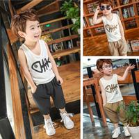 Bộ cotton quần áo cho bé trai - VX539