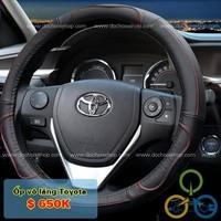 Bọc vô lăng Logo Toyota