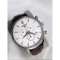 Đồng hồ nam dây da giá rẻ T063L-D