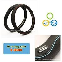 Bọc vô lăng Logo Audi