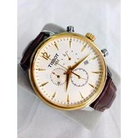 Đồng hồ dây da nam giá rẻ tại HCM T063L-SG