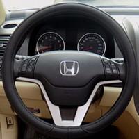 Bọc vô lăng ô tô logo Honda