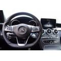 Bọc vô lăng ô tô logo Mercedes