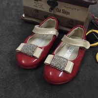 Giày búp bê nơ bé gái từ 1 đến 2 tuổi GBG25