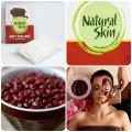 Mặt nạ bột đậu đỏ Natural Skin