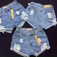 Short jean rách thời trang