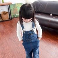 Quần yếm jean  trẻ em phom dài YDT01