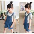 Quần yếm jean short trẻ em YST01