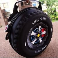 Ba lo hình bánh xe cho bé yêu