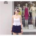 Bộ  Áo 2 Dây Liền Quần Giả Váy Hot
