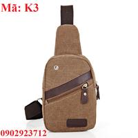 Túi Đeo Chéo Nam Messenger Hàn Quốc - K3