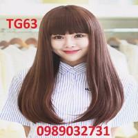 Tóc giả Hàn Quốc đuôi cúp - TG63