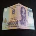 Bóp Da Hình Tiền 500k