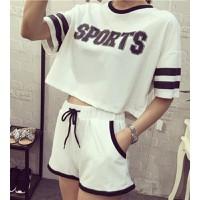 Quần áo bộ crop top sport Mã: AA563 - TRẮNG