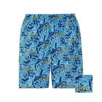 Quần cotton bé trai hãng Uniqlo màu 63 Blue - hàng nhập Nhật