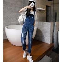 Quần jeans yếm rách nhiều túi Mã: QD896 - 1