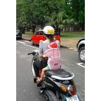 Đai xe máy có đỡ cổ Royal