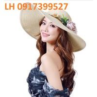 nón rộng vành Hàn Quốc loại 1 L120160