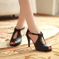 Giày cao gót tết sam cao cấp - LN314