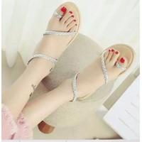 Giày sandal bệt dây bính xỏ ngón